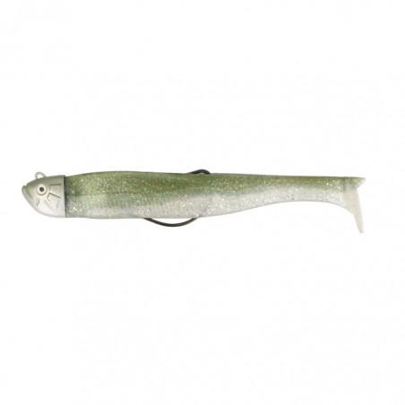RAFIA GREEN WHITE OCTOPUS SEA MONSTERS