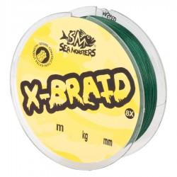 SEA MONSTERS X-BRAID 8X